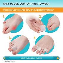 Toe Separators 4-Pack - Big and Pinky Straightener, Spacer, Spreader, Corrector  image 4