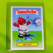 Gpk Kit Spit 2016 Topps Garbage Pail Kids Glossy Collectible Card #1a Mnt - $0.89