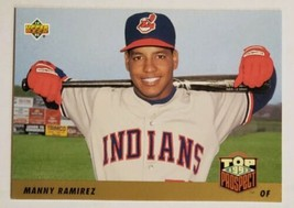 1993 Upper Deck #433 Manny Ramirez RC Rookie Cleveland Indians - Pack Fresh Mint - $2.96