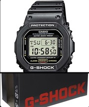 Casio Men's G-shock DW5600E-1V Shock Resistant Black Resin Sport Watch - $79.00