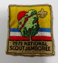 1973 NATIONAL SCOUT JAMBOREE BOY SCOUT PATCH CLOTH BADGE - $9.45