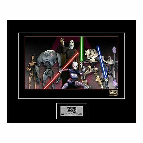 Primary image for Star Wars Shadow of the Sith Clone Wars Giclee Artist Print