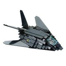 1 Set F-117 STEALTH BOMBER AIR CRAFT Air Force Bricks Building Blocks To... - $26.95