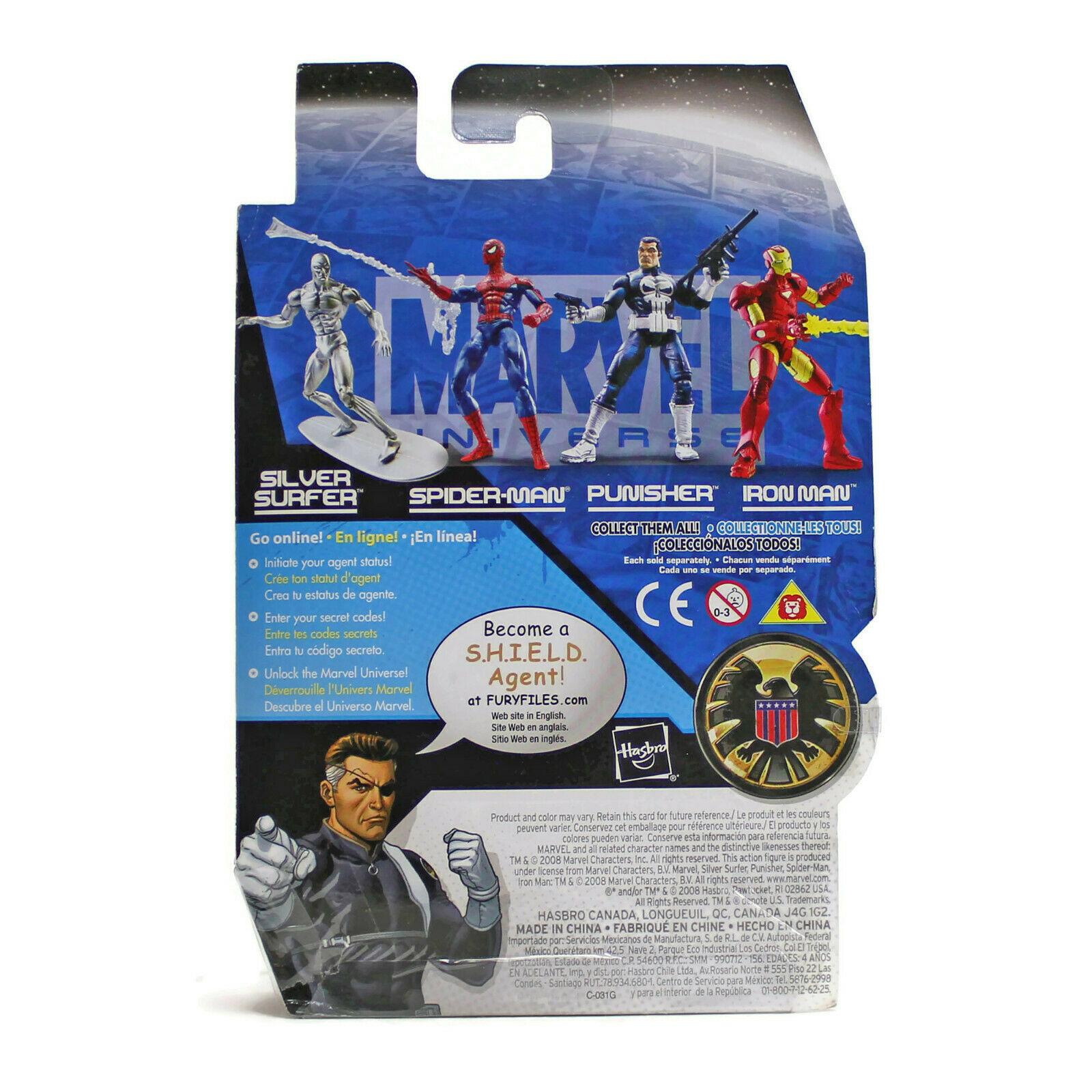 "Marvel Universe   SPIDERMAN   Action Figure 2 Series 1   3.75""   New SEALED 2008"