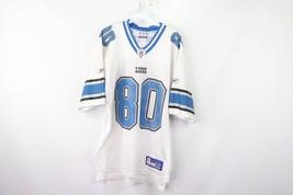 Vintage Reebok Mens Medium Detroit Lions #80 Charles Rogers Football Jersey - €43,28 EUR