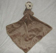 Little Jellycat Brown Monkey Security Blanket Lovey Baby Toy Cuddly Soft - $19.79