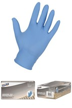 Genuine Joe 5Mil Powder Nitrile Industrial Gloves - X-Large Size - Puncture - $9.67