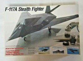 F-117A Stealth Fighter 1/32 scale Testors Plastic model Kit - OPEN AND S... - $34.65