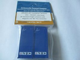 Jacksonville Terminal Company # 205303 Jay 20' Standard Height Container N-Scale image 3