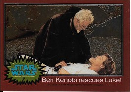 1999 Topps Star Wars Chrome Archives #9 Ben Kenobi Rescues Luke! - $1.49