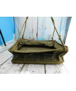 Linemans Canvas Work Bag Military? Tool Hanging Tote Green - $98.99