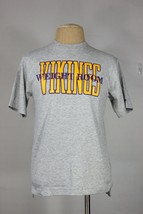 vintage Minnesota Vikings t-shirt M new 90's 80's weight room NFL Bike throwback - $40.00
