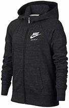 Nike Girls' Gym Vintage Full Zip Black Hoodie (Large) - $60.78