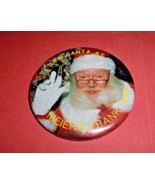 I Saw Santa at Meier & Frank Vintage Pinback Button Department Store Chr... - $6.00