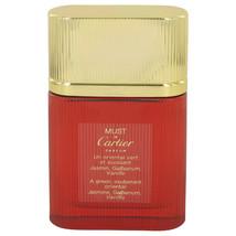 Cartier Must De Cartier Perfume 1.6 Oz Eau De Parfum Spray image 1