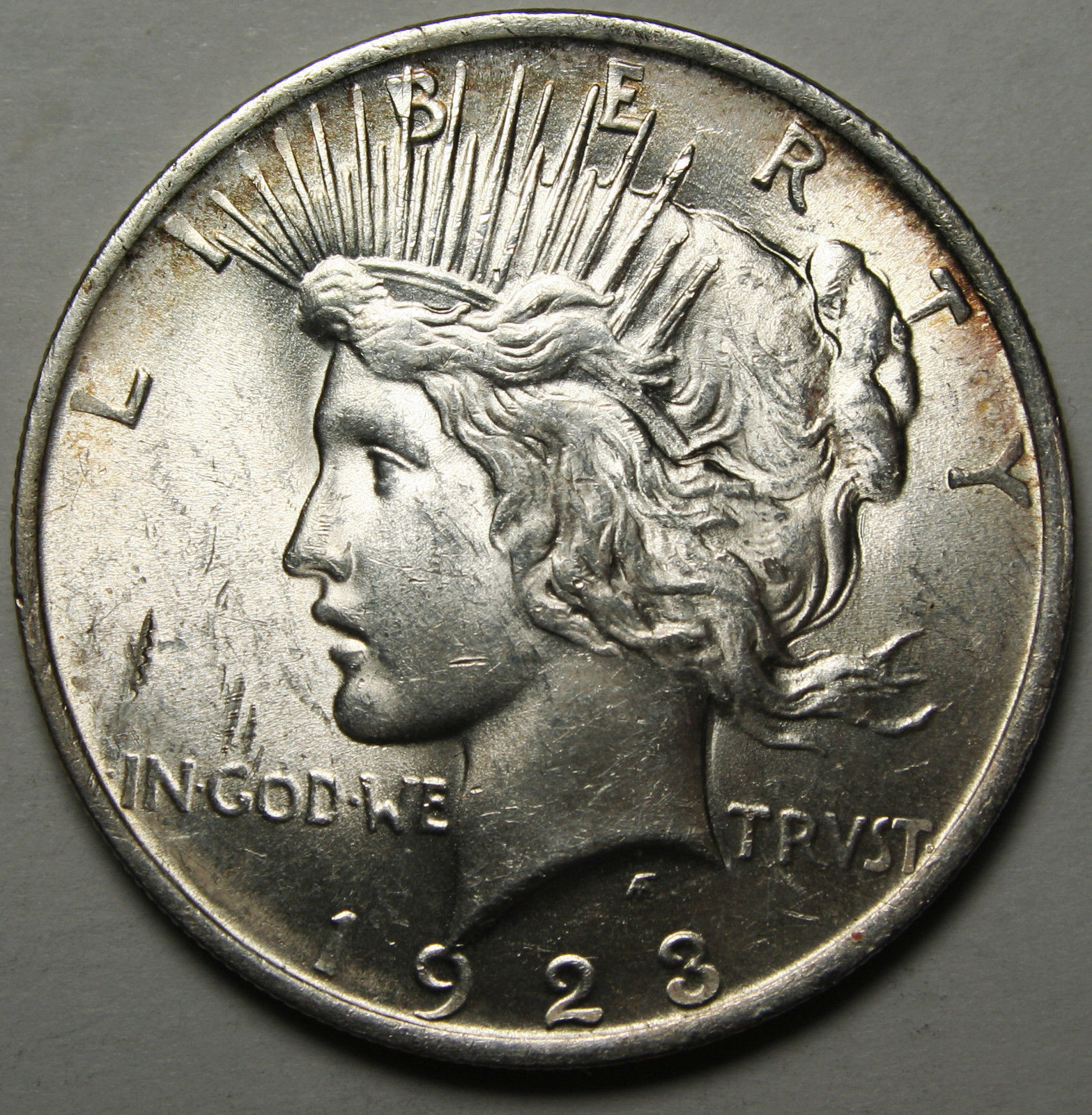 1923 Peace Silver Dollar Coin - Lot # A 1939
