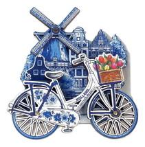 New Souvenir Fridge Magnet Dutch Netherlands Holland Amsterdam building&... - $8.14