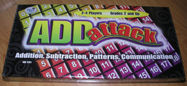 New Math Game Add Attack Fun Educational Complete Sealed Box Teacher Hom... - $9.59