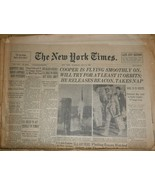 The New York Times Newspaper , May 16, 1963 - $5.95
