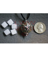 Pewter Fairy Aromatherapy Locket w/ 5 scent pads~NEW - $9.85
