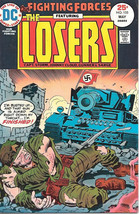 Our Fighting Forces Comic Book #155 The Losers, DC Comics 1975 FINE+ - $13.54