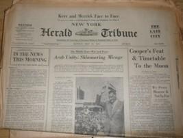 The New York Herald Tribune, Monday , May 20, 1963 - $4.90