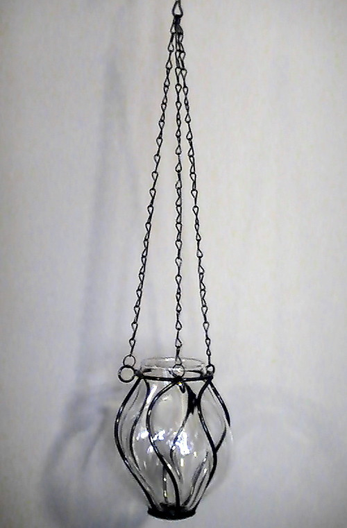 Caged_glass_candle_holder_or_vase_suspended_black_iron_001