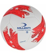 Millenti US Soccer Ball Size 5 - USA Red White and Blue Soccer Balls - C... - $16.96
