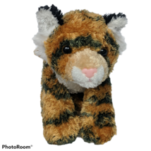 "Aurora Orange Tiger Big Cat Jungle Zoo Plush Stuffed Animal 2016 8"" - $15.84"