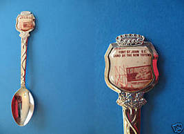 FORT ST. JOHN BC. Souvenir Collector Spoon Collectible BRITISH COLUMBIA ... - $5.95