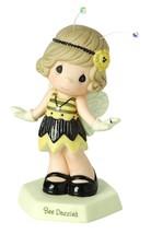 Bee Dazzled Precious Moments Figurine Flapper Girl Fringe Dress Antenna ... - $30.68