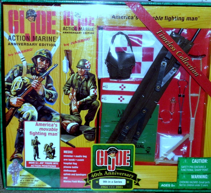 Hasbro BRAND NEW Released in 2001 BOXED RARE ACTION MAN Tempest
