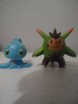Pokemon Tomy Quilladin/ Manaphy Monster Collection Mini Figure Authentic - $9.95