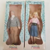 Vintage Horsman Doll House Family Rodney and Marg - $17.81