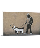 ARTCANVAS Choose Your Weapon Keith Haring Dog Canvas Art Print by Banksy - $43.99+