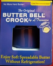 Butter Bell BLUE The Original Crock by L. Tremain, Cafe Retro Collection... - $24.75