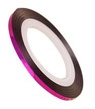 20 Rolls 2mm DIY Striping Tape Line Nail Art Decoration Sticker, Rose Red image 2