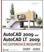 AutoCAD 2009 and AutoCAD Lt 2009 by Jon McFarland NO EX - $25.00