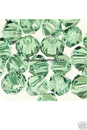 Primary image for 25 Pcs 4MM Erinite Swarovski Crystals 5301 Bicone