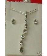 Avon Believe In Love Curve Necklace Gift Set NIB - $8.00
