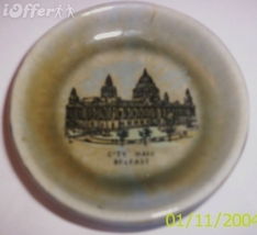 Wade PORCELAIN-- Belfast City Hall Coaster / Small Dish - $10.95