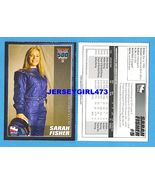 SARAH FISHER 2007 Indy 500 Racing Card - $6.00