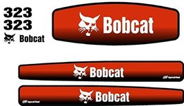 New Whole Machine Bobcat 323 Excavator Decal Set - $105.45