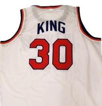 Bernard King #30 New York Basketball Jersey Sewn White Any Size image 4