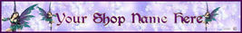 Website Banner Purple Fairy Professional Quality - $7.00