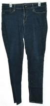 Levi's Womens's 535 Legging Dark Blue Skinny Denim Jeans Size 13M