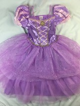 DISNEY STORE Princess Rapunzel costume dress 9 10 Purple EUC - $28.04