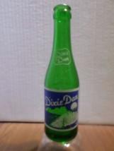 Vintage Rare Dixie Dan Riverboat Waupaca Wisconsin 7 oz Green Glass Soda... - $28.00
