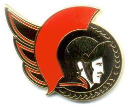 NHL Licensed Pin Ottawa Senators Hockey Logo Pin - $5.00