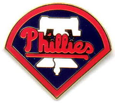 MLB Licensed Pin Philadelphia Phillies Baseball Logo - $5.00
